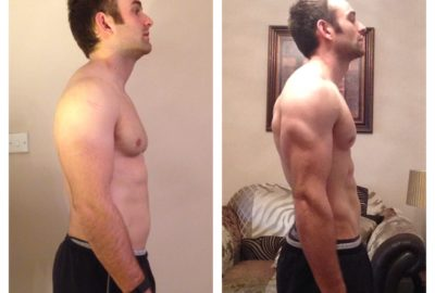 My own results 2016 - 6 week challenge